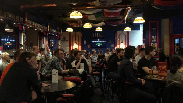 Pint of Science event in Moscow, 2019